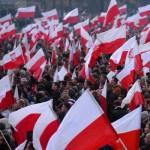 Гевалт!**В сорокамиллионной Польше на марш вышли 100тысяч пшеков, а в стомиллионной покаещёрусской РФ 4 ноября на маршах было замечено от силы тыщи 2-3 националистов.. У них – нация, у нас – национальная кастрация.