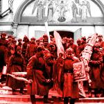 «Они пали, любя Россию, в братоубийственной гражданской войне» – Ёпрст, выходит и Цесаревича Алексея, любя Россию, расстреляли и расчленили братья? Как же вы достали суки-примирители.