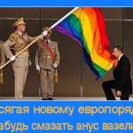 Жители ЕС не считают Россию частью Европы, показал опрос.. И слава Богу!**Да, россы, Б☦лые мы, с бирюзовыми глазами — и потому так ненавидите вы нас.(Видео)
