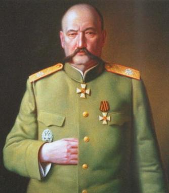 ГЕНЕРАЛ  ЮДЕНИЧ – ГЛАВНОКОМАНДУЮЩИЙ РУССКИХ СИЛ СЕВЕРО-ЗАПАДА РОССИИ.ИСХОД 28 НОЯБРЯ 1919г.