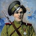 К 100-летию гибели легендарного Козьмы Крючкова.. Россия остро нуждается в Б☦лых героях. Они, опорные, фундаментные «камни» при строительстве будущей Б☦лой России – государства, состоящего (пока ещё) на 80% из русских.