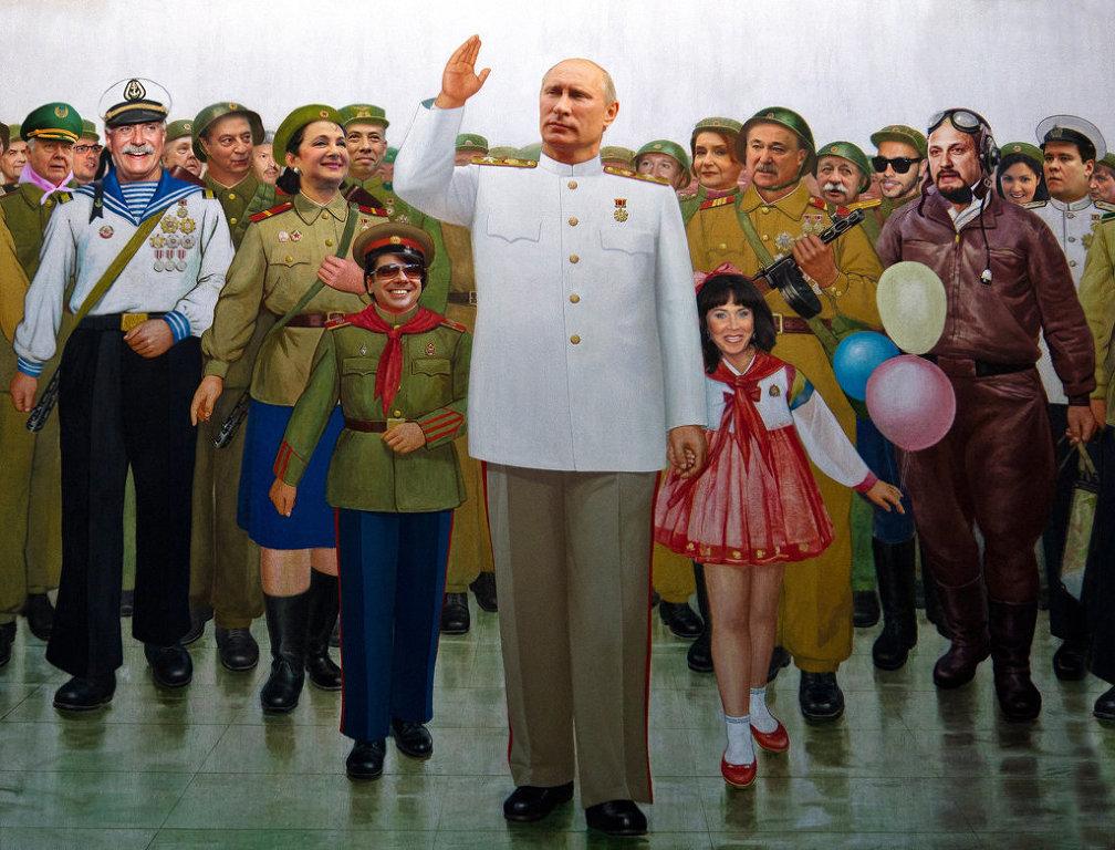 """""""Соратники Навального называет его в переписке между собой АН – это сокращение от Adolf Hitler.Навальный и есть Гитлер"""".. Тогда  Путин и есть Сталин. Тогда поздравляем всех, в 2018г. мы будем выбирать между Гитлером и Сталиным.(Видео)"""