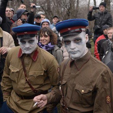 Теперь вы понимаете почему мы называем нынешнюю власть жидочекистами?.. НКВД > РосГвардия.