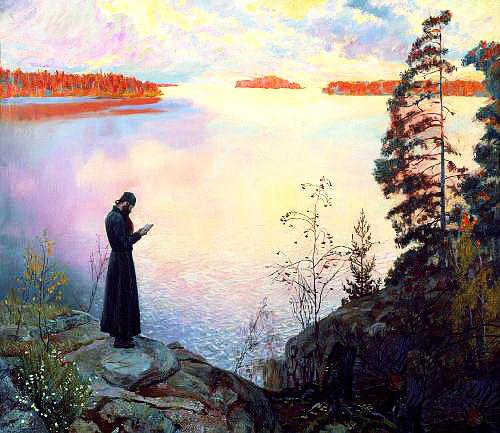 """""""Монах, постригаясь, не давал клятвы быть аниматором. Монах – от греческого μόνος – «одинокий, один».Царство Божие внутри нас, и нигде больше. Как говорил Серафим: «Тут, в этом лесу, мне и Иерусалим, и Иордан, и гора Фавор»""""."""