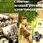 Ложная дихотомия Русской катастрофы.