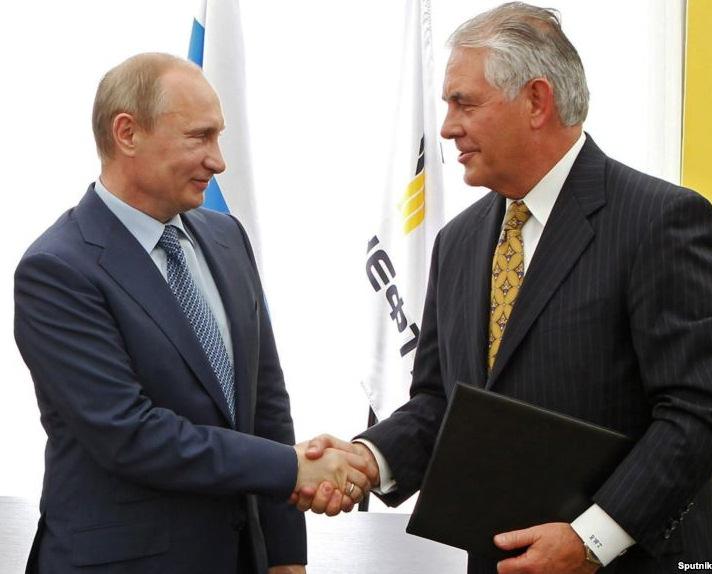 Американский Рекс выгрыз у чекиста Путина поддержку Асада.. Ультиматум завуалировано, но принят.. Чтобы не попасть под новые санкции, Кремль Асада сольёт.