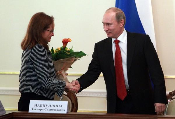 Глава ЦБ Наибуллина не разглядела кризиса банковской системы.(Видео)**У Путина всё правительство состоит из одних наибуллиных.Пронько этот факт полностью подтверждает.(Видео)