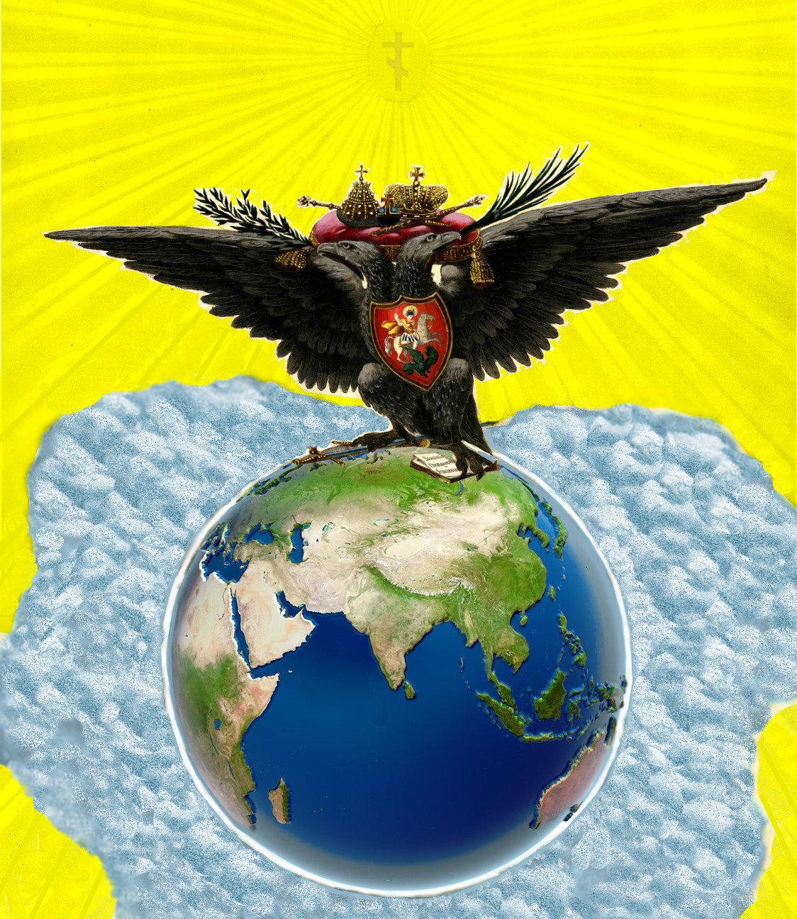 """""""Не верьте в худо. Верьте в Россию и Русских. Не забывайте ни на минуту, что Россия — это наша страна, и рано или поздно — но мы обязательно сделаем ее свободной, великой, богатой и счастливой"""".Имперский Двуглавый Орёл ещё расправит свои крылья.""""С наступающим вас новолетием!"""""""